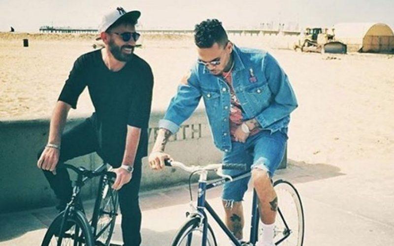 5fd1191448 Chris Brown   Benny Benassi Shoot  Paradise  Video - Urban Islandz