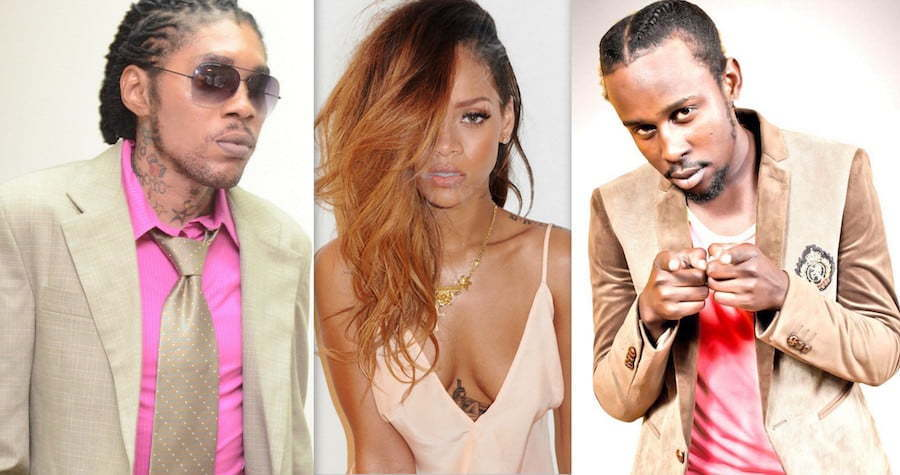 Vybz Kartel Rihanna Popcaan