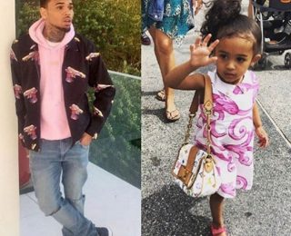 Chris Brown Daughter Royalty Is Growing Up Fast, Breezy Shares Adorable Photo