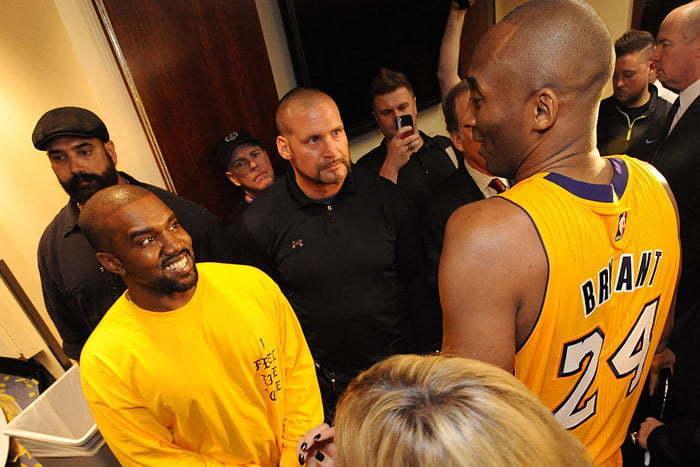 Kanye and Kobe