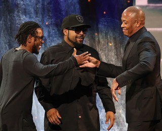 N.W.A. Gets Inducted Into The Rock and Roll Hall Of Fame
