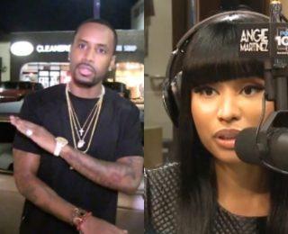 Nicki Minaj #PrinkPrint Reaches 1 Billion Streams Safaree Samuels Congratulates Her