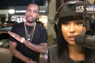 "Nicki Minaj Compares Hers and Safaree Twerking ""Who Is Better?"""