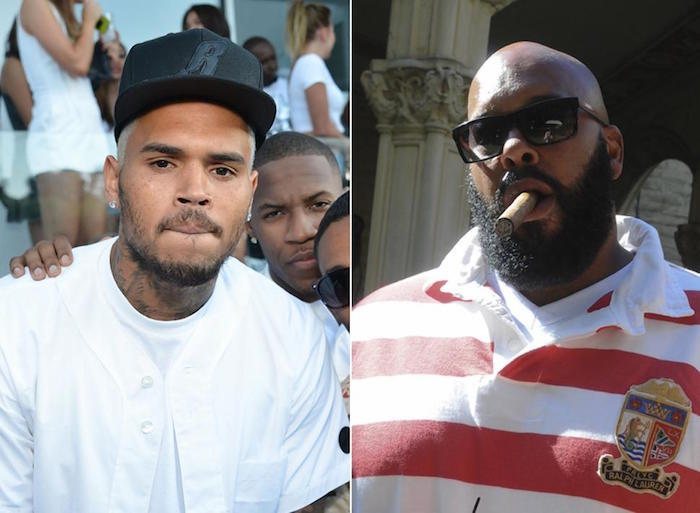 Chris and Suge Knight
