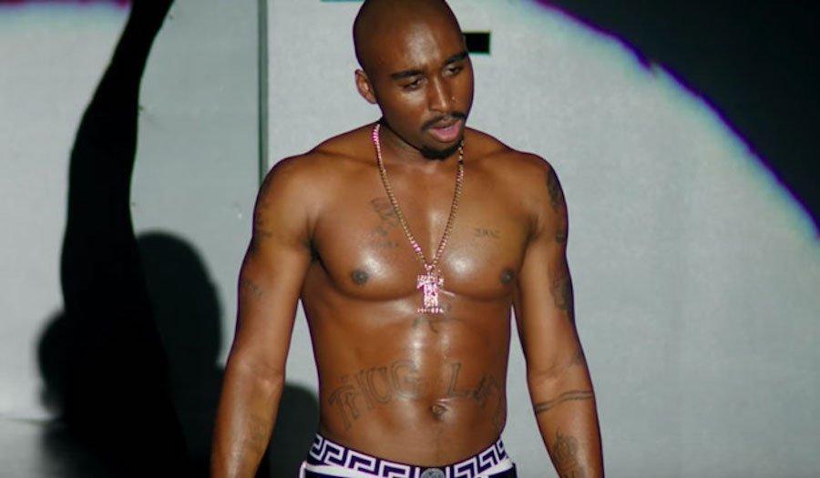 Demetrius Shipp Jr. Tupac Shakur
