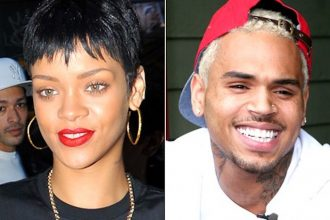 Chris Brown Says Commenting On Rihanna Pic Is Just Innocent Fun