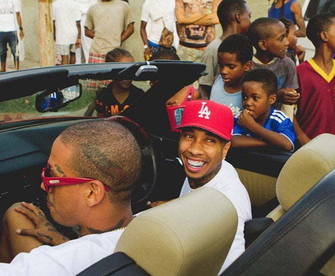Tyga in Kingston