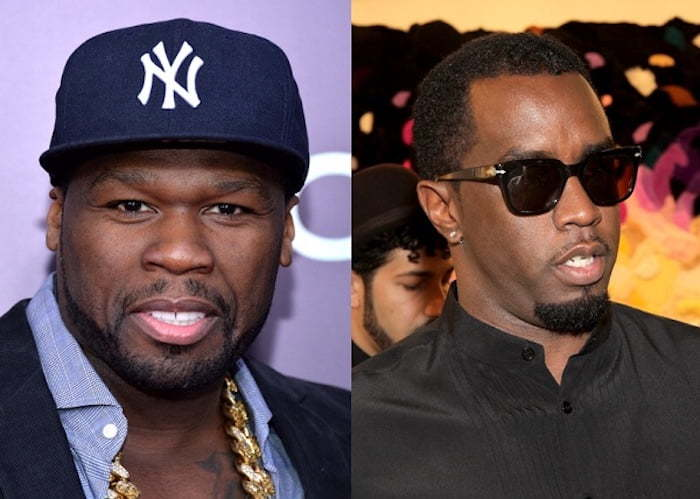50 Cent and Puff Daddy