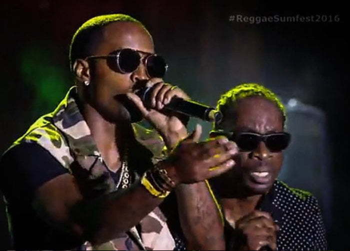 Bounty Killer and Safaree