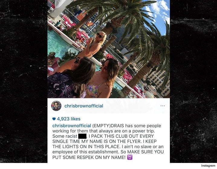 Chris Brown Drais IG