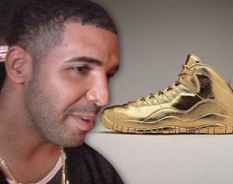 Drake Spent $2 Million On Solid Gold OVO Jordan