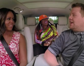 Michelle Obama & Missy Elliott Nail Beyonce On 'Carpool Karaoke'