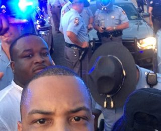 T.I. Leads Peaceful Protest In Atlanta Amidst Violence