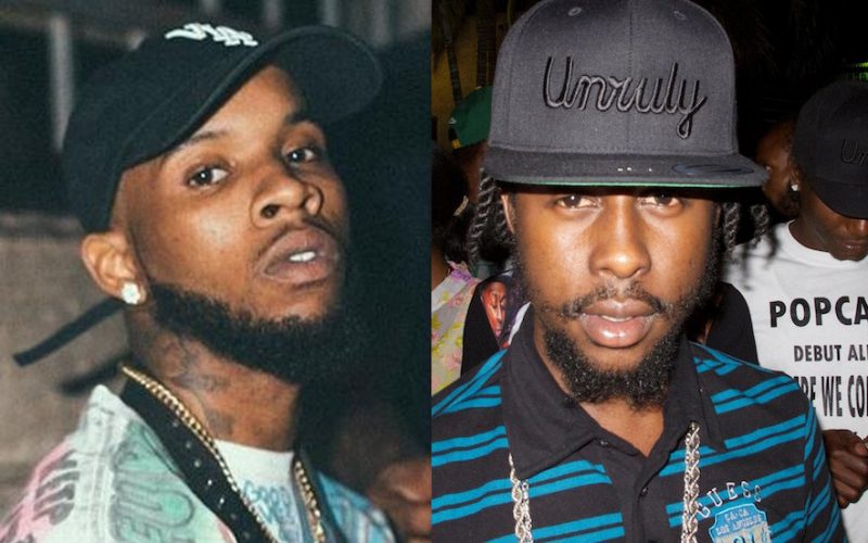 Popcaan Dissing Tory Lanez For Claiming He No  1 In Jamaica