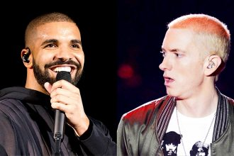 "Drake ""I Am Ready"" To Battle Eminem, Beef Brewing"