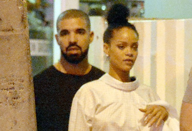 Drake and Rihanna in Miami