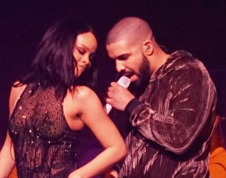 Drake Make His Move On Rihanna, Chris Brown Showing Signs Of Jealousy