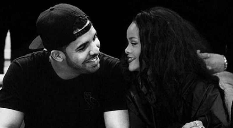 Rihanna and Drake photo