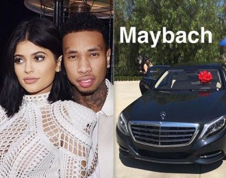 Tyga Spent $200K On A Maybach For Kylie Jenner Birthday Gift