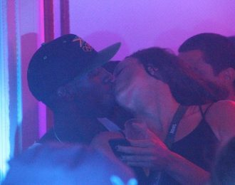Usain Bolt Photoed Kissing Another Female At A Club In Rio