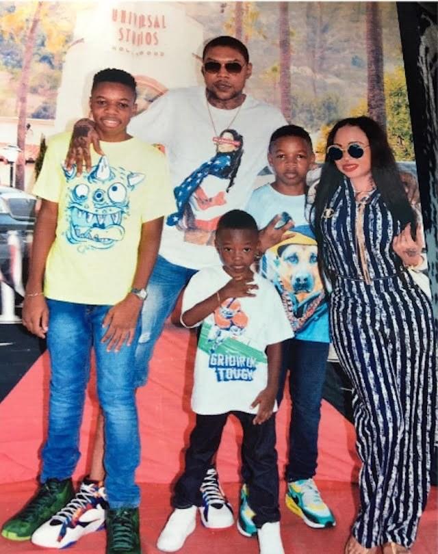 Vybz Kartel family visit 2016