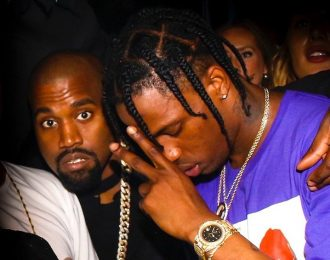 Travis Scott Previews Kanye West and Kid Cudi New Music