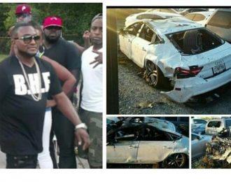 Shawty Lo's Death Photos From Deadly Car Crash