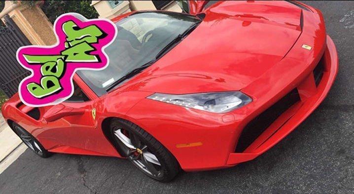 Tyga Ferrari