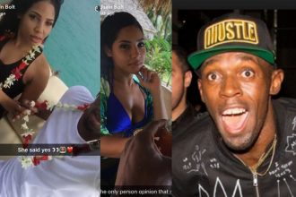 Usain Bolt Hinted At Engagement To Kasi Bennett On Vacation