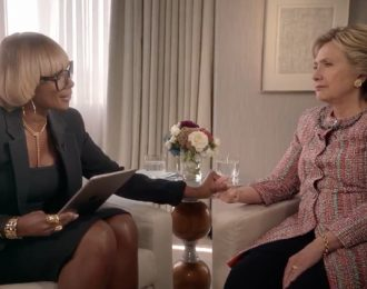 Mary J. Blige Interviews Hillary Clinton For Apple Music