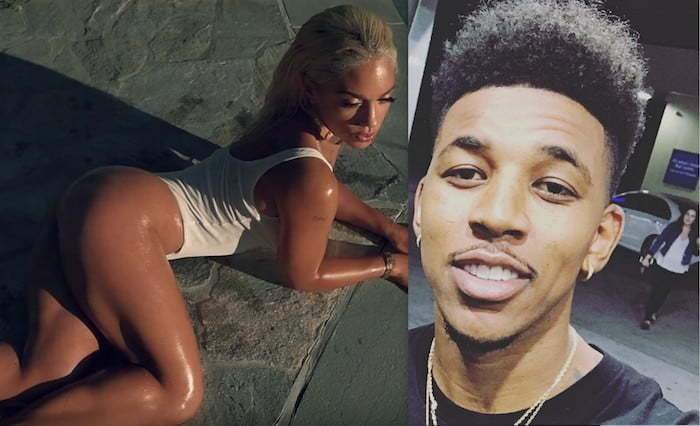 dating nick young