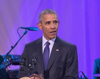 President Obama Rocking Out To Drake's 'Hotline Bling' At White House Party With Usher, Questlove and more
