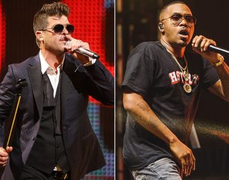 Robin Thicke feat. Nas – Deep [New Music]