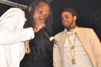 Did Mavado & Alkaline Diss Vybz Kartel On Stage In Trinidad ?