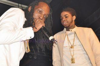 Did Mavado & Alkaline Diss Vybz Kartel On Stage In Trinidad ?