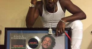 "Charly Black Single ""Party Animal"" Went Diamond"