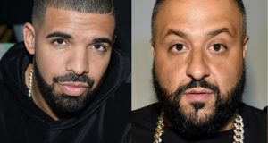 Drake Gave DJ Khaled And His Son A Pair Of Diamond Keys