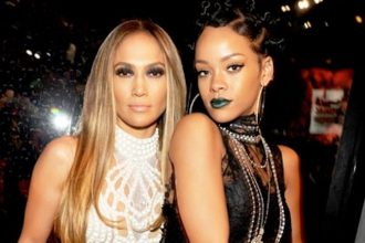 Rihanna Reacts To Drake and Jennifer Lopez Relationship Hit The Red Button