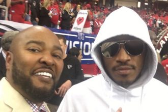 Future and Bow Wow Trolling Russell Wilson Sideline Falcons-Seahawks NFL Game