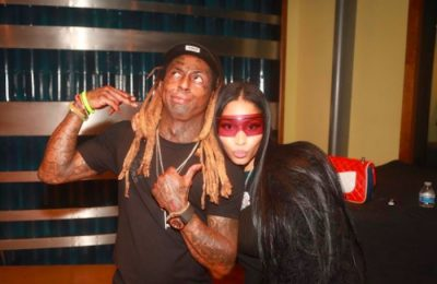 Nicki Minaj Says Her Song With Lil Wayne and David Guetta Is Fire