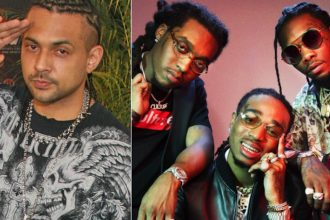 """Sean Paul and Migos Shoot Video For """"Body"""" In Miami"""