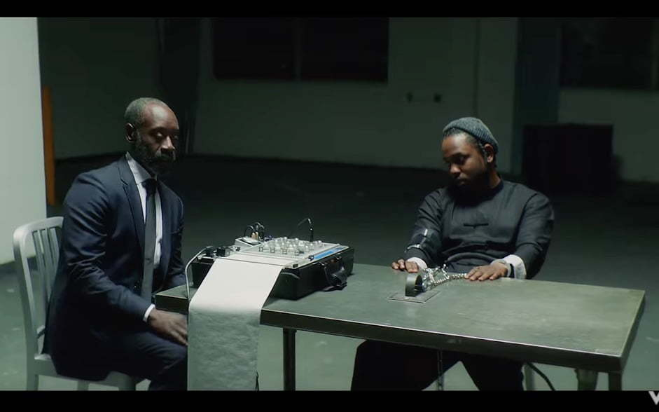"Kendrick Lamar and DOn Cheadle Stars In ""DNA"" Video ..."