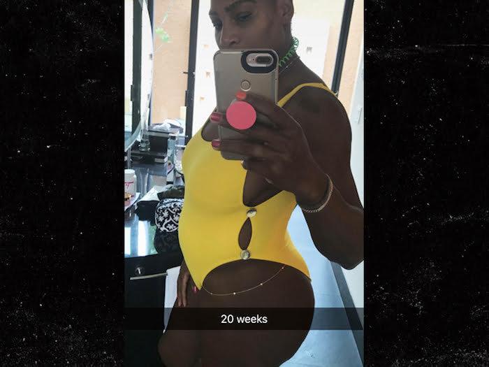 Image result for serena williams pregnant 2017