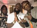 Rick Ross, Young Thug & Wale Performs 'Trap Trap Trap' On Tonight Show