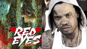 "Did Alkaline Use Tommy Lee Photo On Artwork For Diss Track ""Red Eyes"""