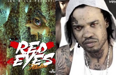 """Did Alkaline Use Tommy Lee Photo On Artwork For Diss Track """"Red Eyes"""""""