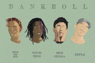 Diplo feat. Young Thug, Rich The Kid & Rich Chigga – Bank Roll (Rich Chigga Remix) [New Music]