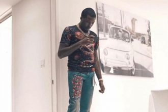 Meek Mill Gets Roasted For Wearing Gucci Cropped Jeans