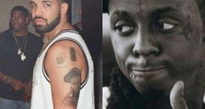 Drake Immortalized Lil Wayne With A Tattoo On His Arm