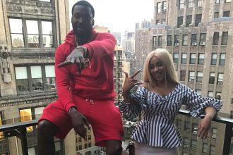 Nicki Minaj Fans Says Meek Mill Is Petty For Bringing Cardi B On Stage